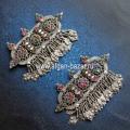 Пара заколок для волос - племенные украшения Кучи Пакистан (Кашмир), племена Куч